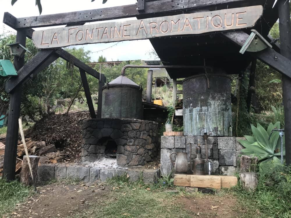 Île de la Réunion. La fontaine Aromatique à Saint-Leu © Destination974 | Blog Randonnées à La Réunion pour famille