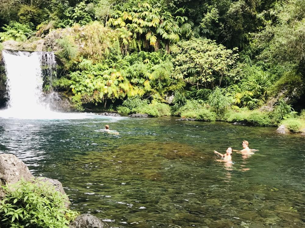 Cascade Langevin année 2021 © Destination974   Blog Randonnées à La Réunion pour famille