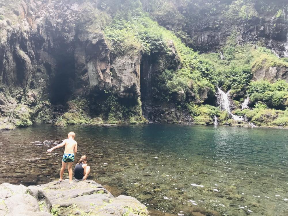 Cascade Langevin année 2021 © Destination974 | Blog Randonnées à La Réunion pour famille